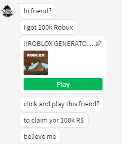 John Doe Messaged Me Roblox - The Scams That Haunt Us To This Day Roblox Wikia Fandom