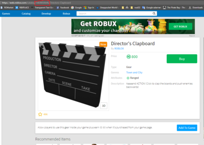 Gear Roblox Wikia Fandom Powered By Wikia