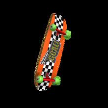Radical Orange Skateboard