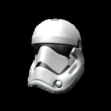 First Order Storm Trooper Helmet