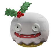 Holiday Cup Cake Head