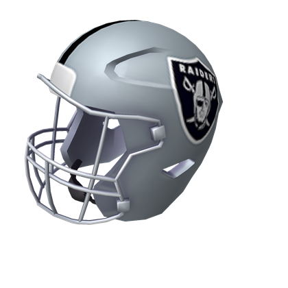 Oakland Raiders Helmet Roblox Wikia Fandom Powered By Wikia - dark knight helmet roblox