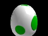 Extinct Egg of Dino On Ice
