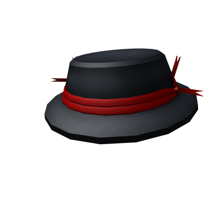 File:Red Ribbon Banded Cap.png