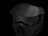 Black Paintball Mask