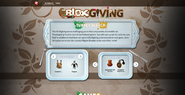 BLOXgiving 2014 Event Page