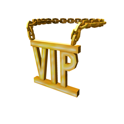 Golden Vip Necklace Roblox Wikia Fandom