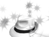 Boss White Hat
