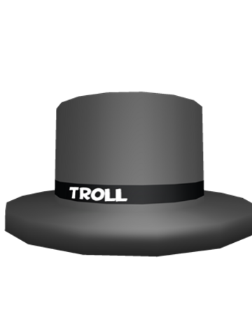 Troll Top Hat Roblox Wikia Fandom