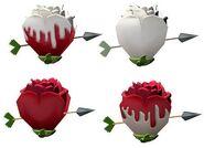 Painted Rose Egg Variants