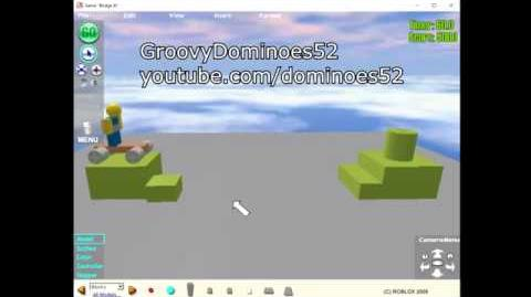 ROBLOX 2005 Bridge It Gameplay (Not a simulator) Short