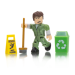 Welcome to bloxburg glen the janitor