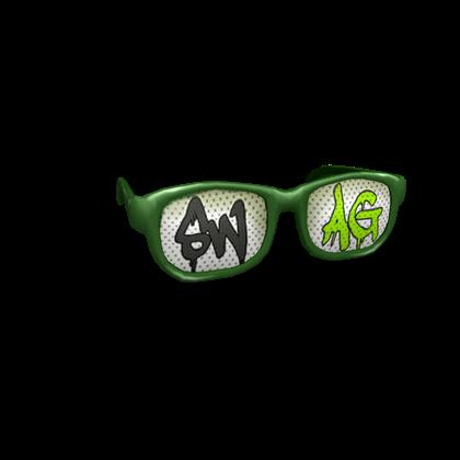 24e6d6b2a5f5 3 1 - 711 - Green Swag Shades