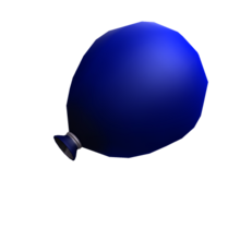 Blue water balloon