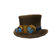 Eccentric Time Keeper's Top Hat
