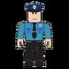 Scared cop