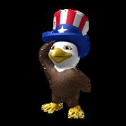 Born Free Baby Eagle Shoulder Friend