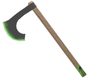 Zombie Axe Unused