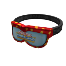Winter Games Goggles