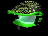 Neon Motorbike Helmet