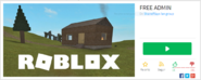 A free robux game
