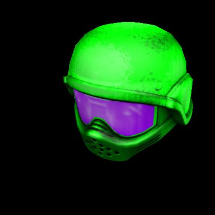Neon Green Paintball Mask Roblox Wikia Fandom