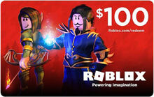$100 Roblox GiftCard
