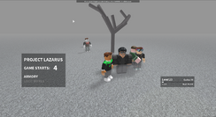 Project Lazarus Roblox Wikia Fandom - roblox zombies project lazarus