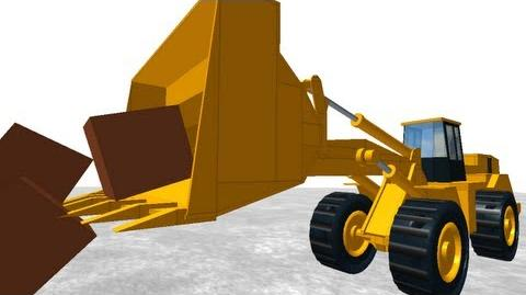 Articulated Physics Demo Front-end Loader