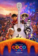 Coco Theatrical Release Poster