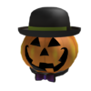 Sharp Dressed Pumpkin Man