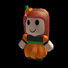 BLOXikin -15 Pumpkin Girl ROBLOXian