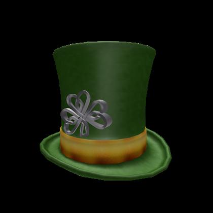 File:Celtic Knot Shamrock Top Hat.png