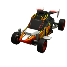 Orange Hot Wheels Dune Buggy -10