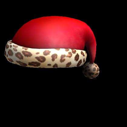 File:Leopard Santa Hat.png