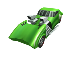 Green Hot Wheels Twin Mill 2