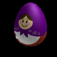 Plum Nesting Egg