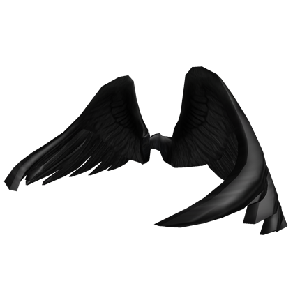free black wings roblox