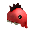 Playful Red Dino