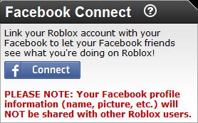 FacebookConnect Unconnected
