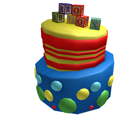 Silly Birthday Cake Hat Roblox Wikia Fandom Powered By