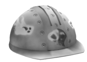 Rivet Painted Hardhat