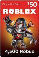 $50 Roblox Card (Digital Code)