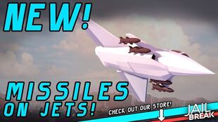 Missiles on Jets!