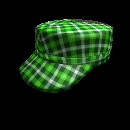 File:Bright Green Plaid Cap.png