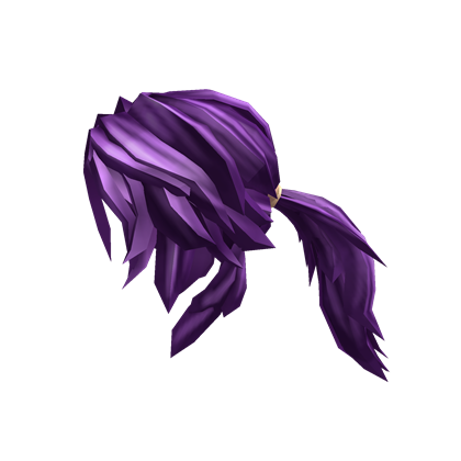 Purple Action Ponytail Roblox Wikia Fandom Powered By Wikia - code for the galixy hair roblox