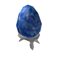 Sapphire Fabergé Egg of Sparkle Time