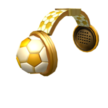 Golden Soccer Headphones