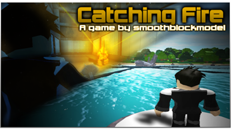Catching Fire The Hunger Games Roblox Wikia Fandom - roblox hunger games animation