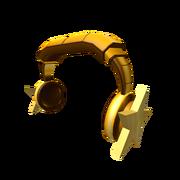 Golden Star Headphones